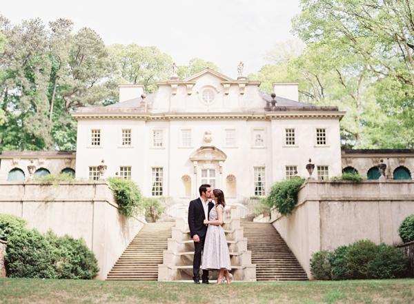 Janet richard chris isham for Wedding dress rental atlanta