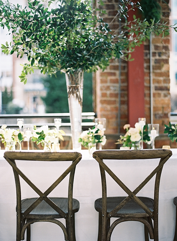 greenery-reception-centerpiece