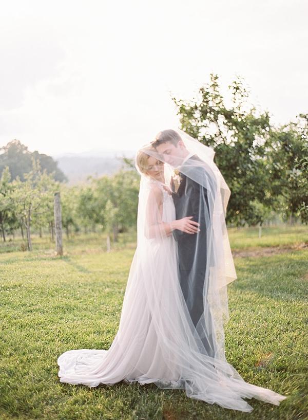 dreamy wedding portrait