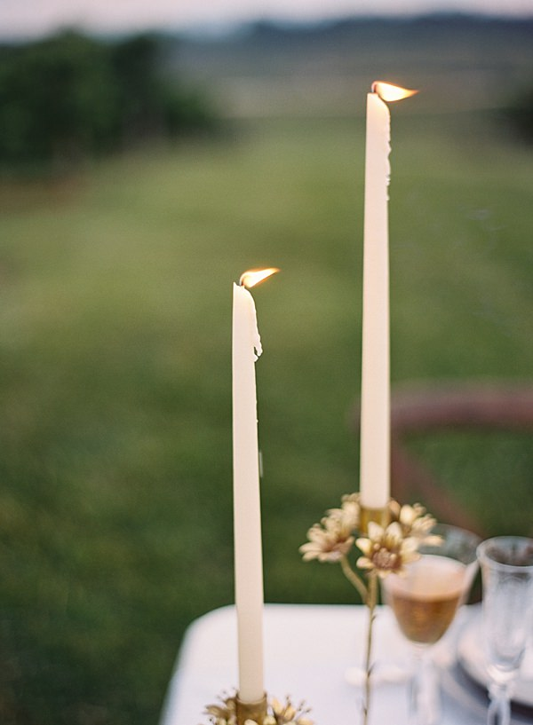candlelight on film