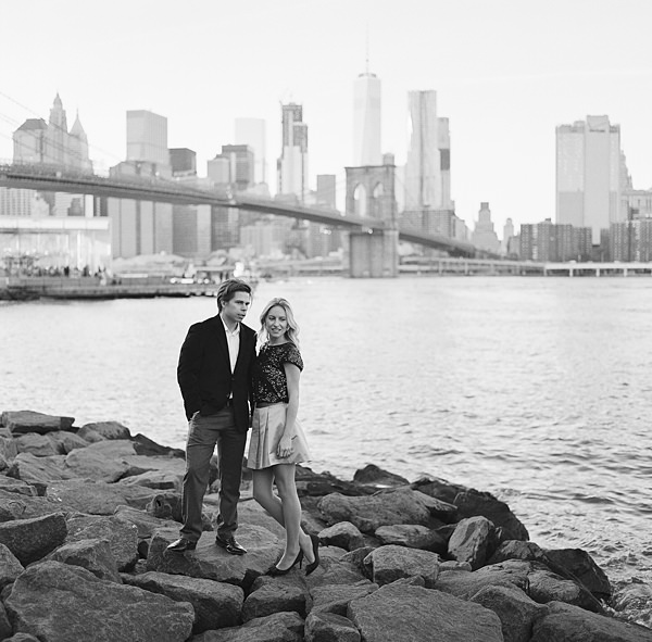 manhattan skyline portrait session
