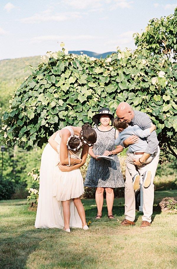 sweet wedding ceremony
