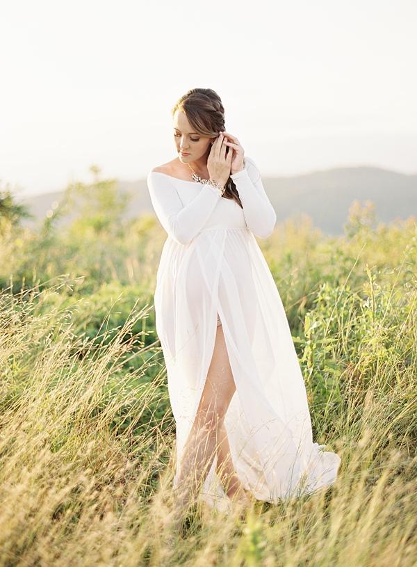 elegant maternity