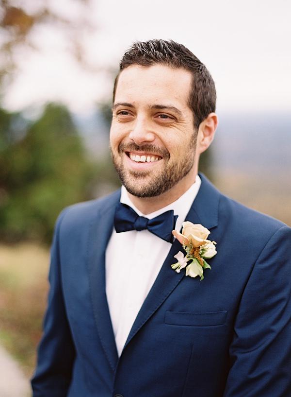 classic groom portrait