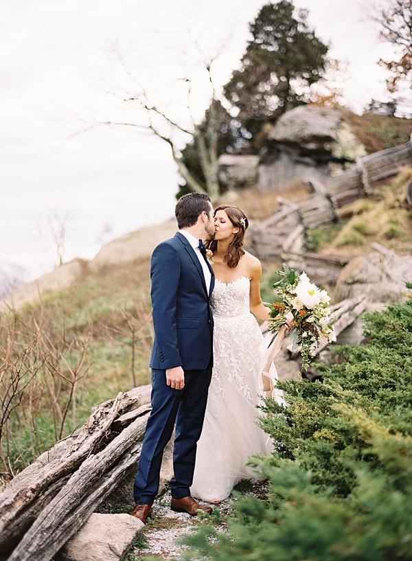 overcast wedding day