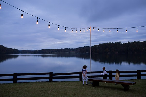 lake keowee twilight