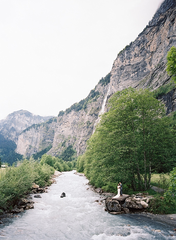 Switzerland Alps elopement