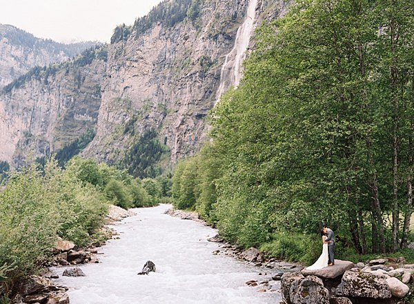 epic switzerland wedding photo