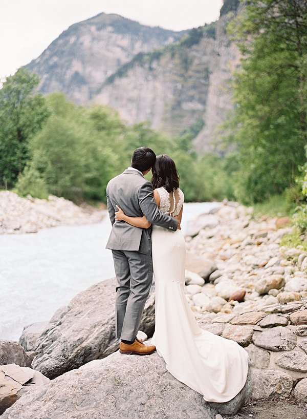 intimate switzerland elopement