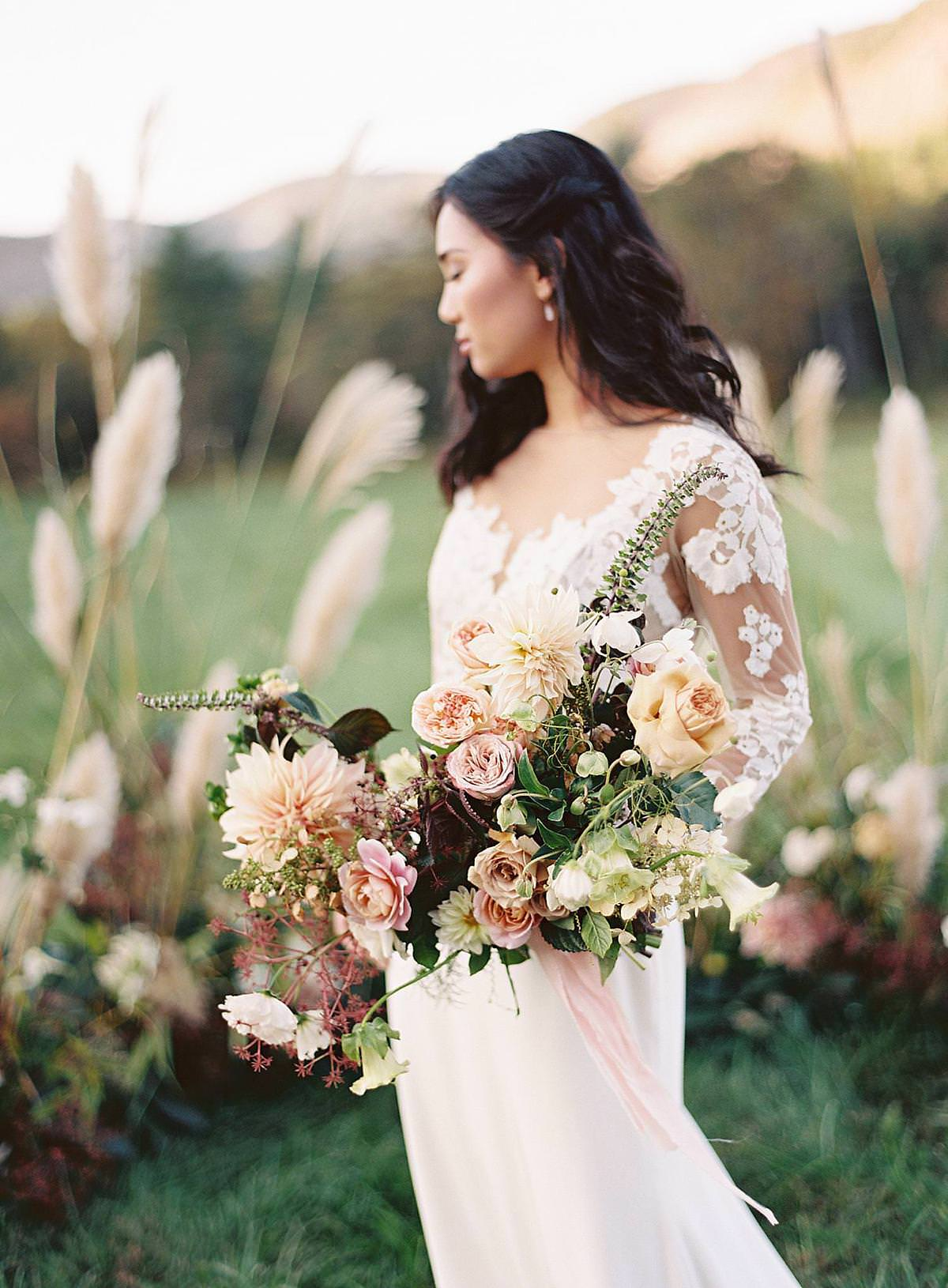 fall wedding at lonesome valley
