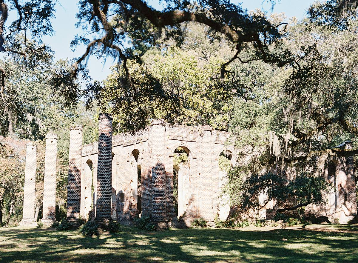old sheldon church south carolina