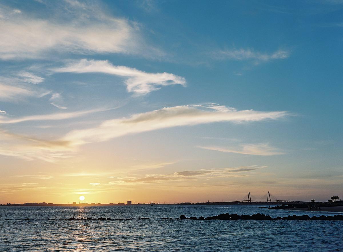 sullivans island sunset