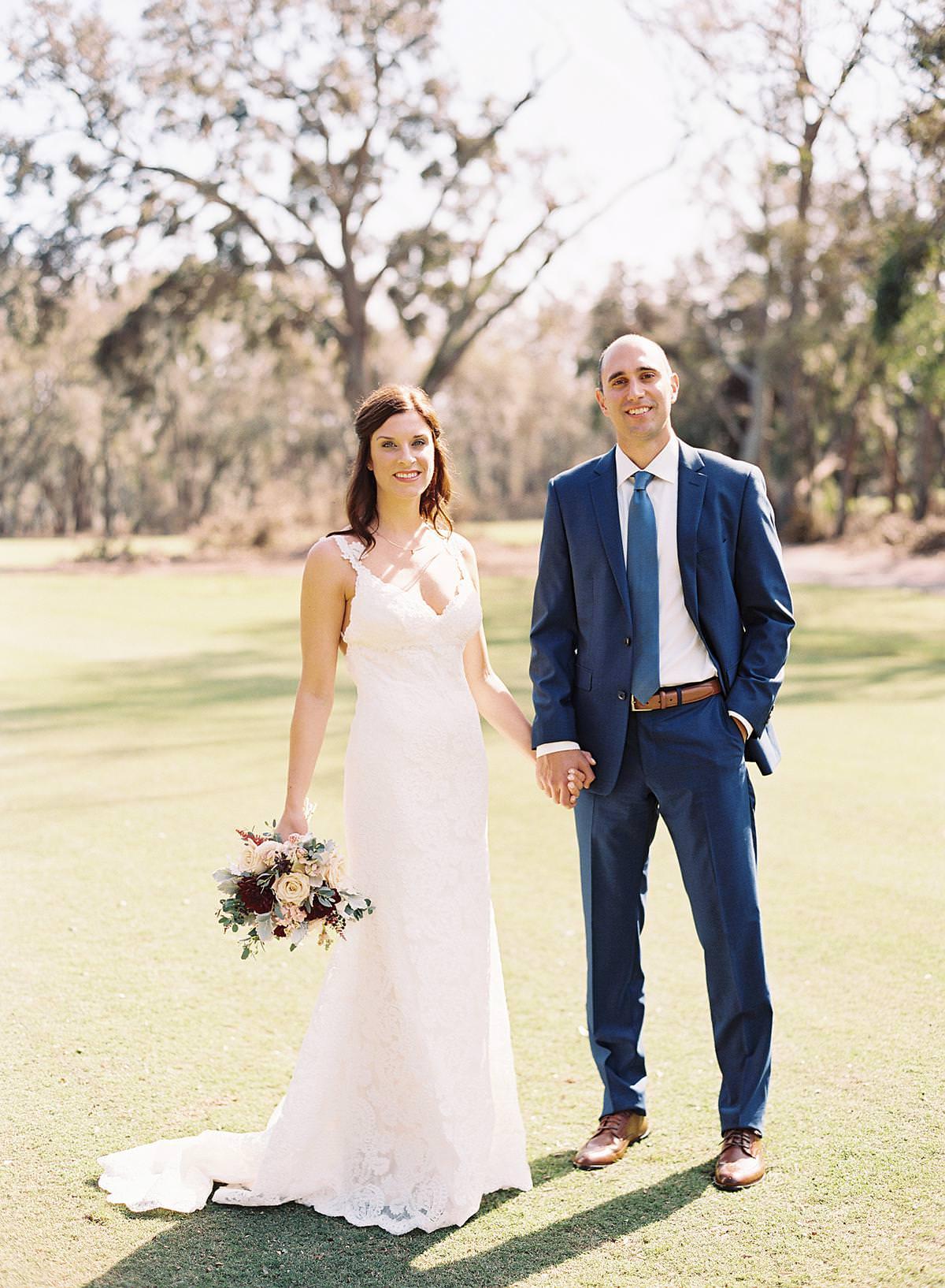 new york couple hilton head wedding