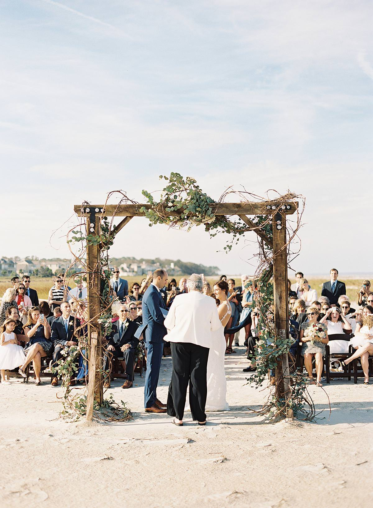 hurricane matthew wedding ceremony
