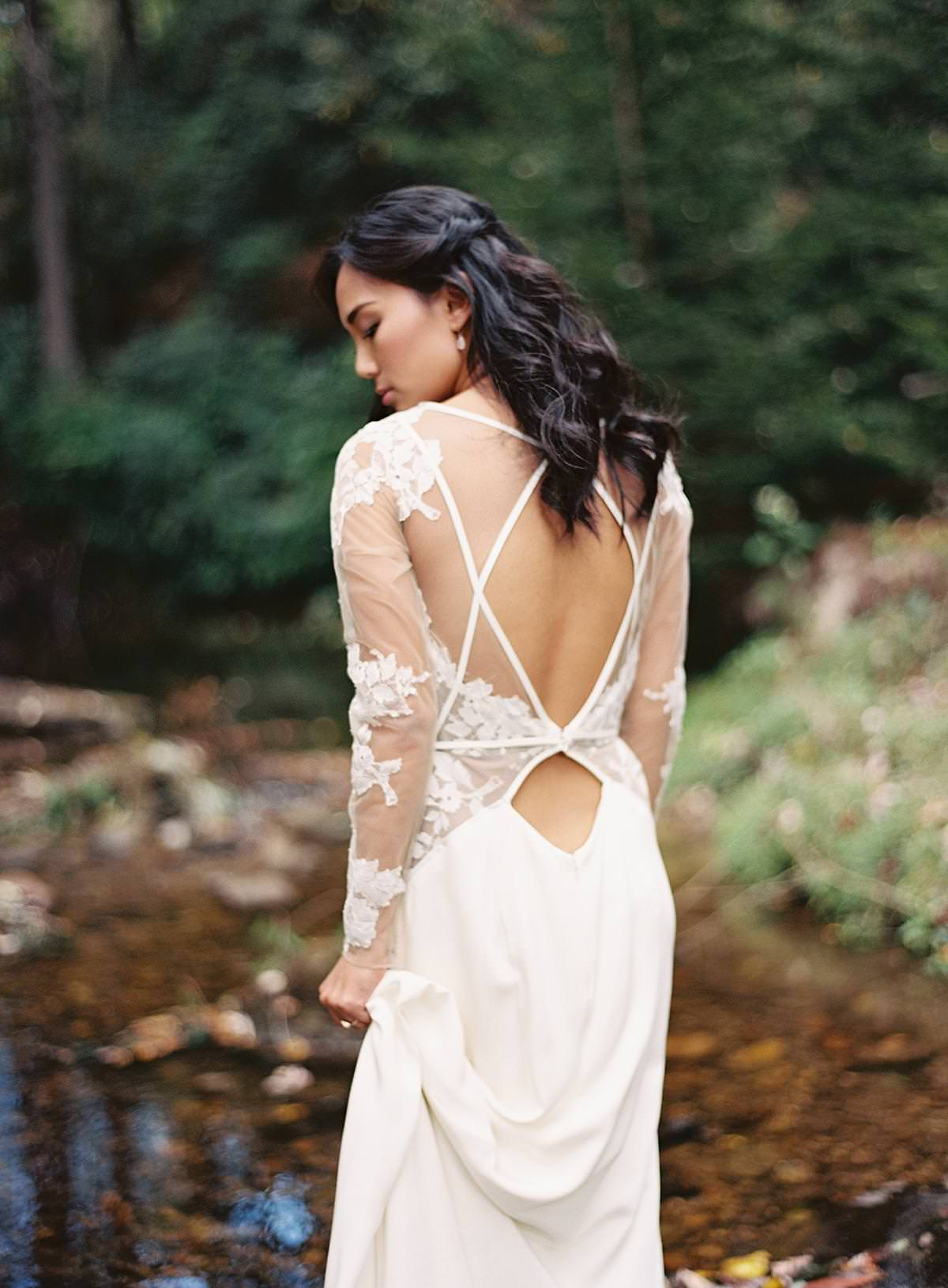 hayley paige backless dress