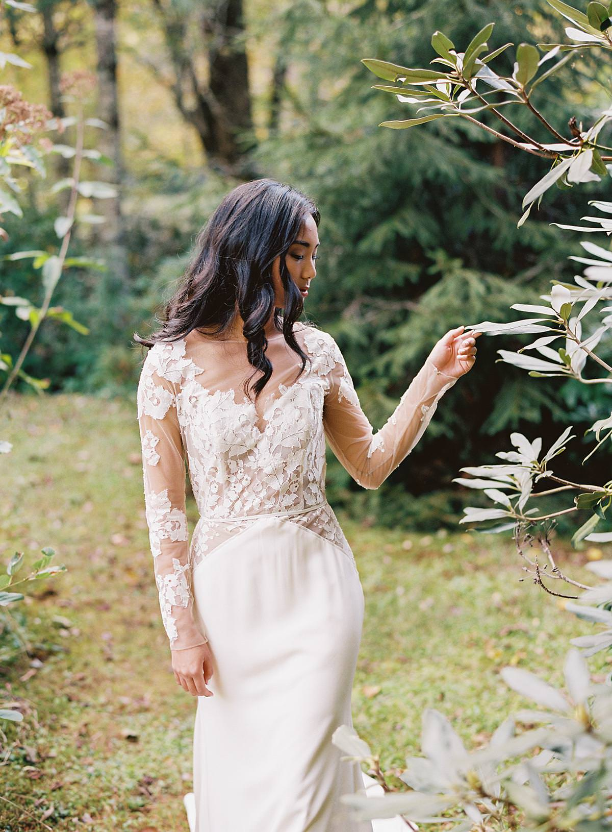 lace sleeve wedding dress hayley paige