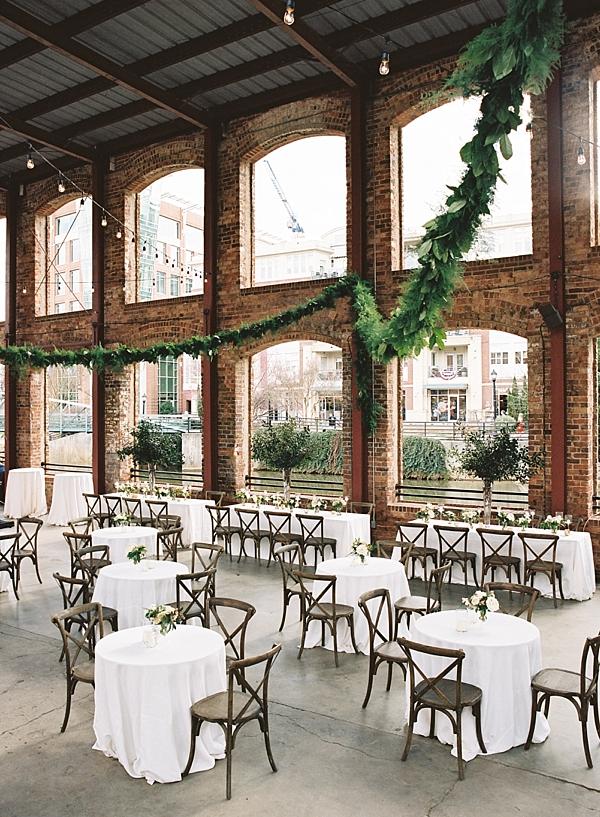 fern-studio-reception-garland