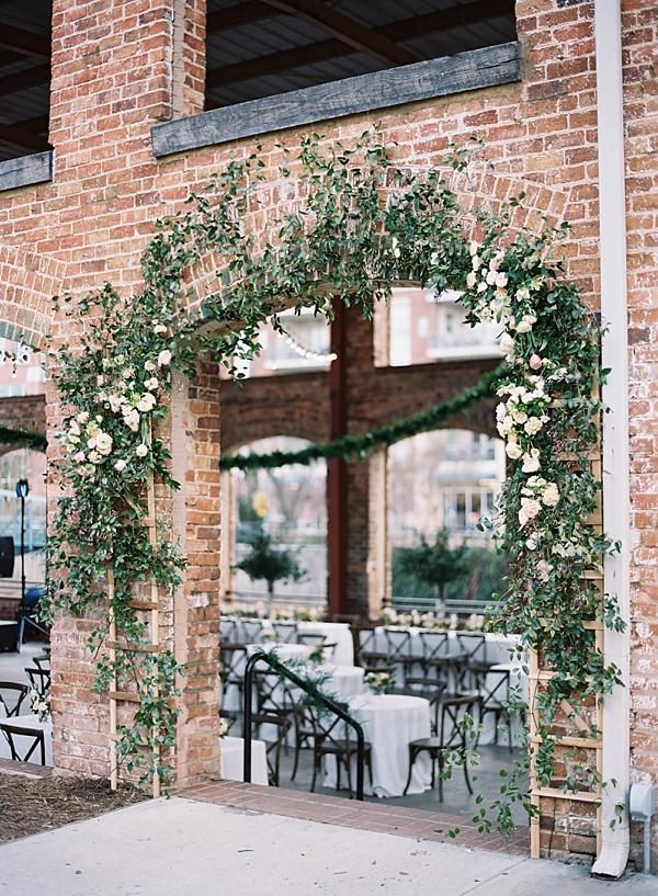 wedding-reception-entrance-floral-arch