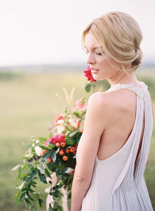 ethereal bridal portrait