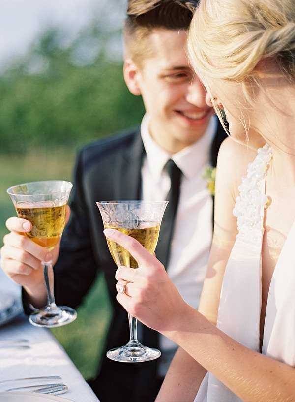 wedding reception cheers