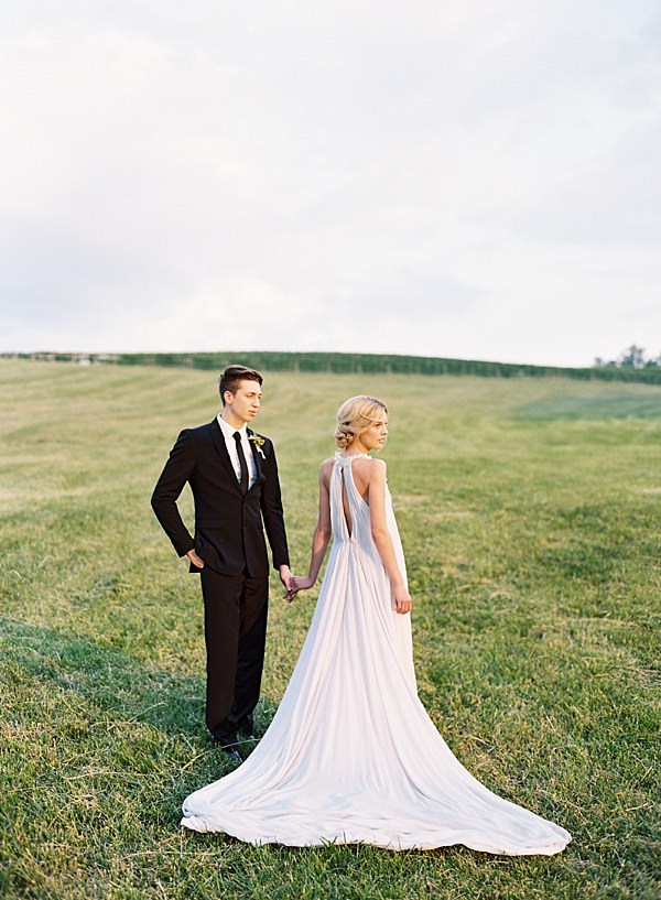 chris isham bride and groom