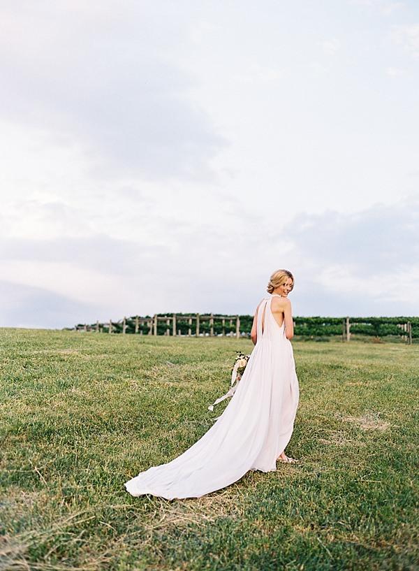 fine art film wedding photos