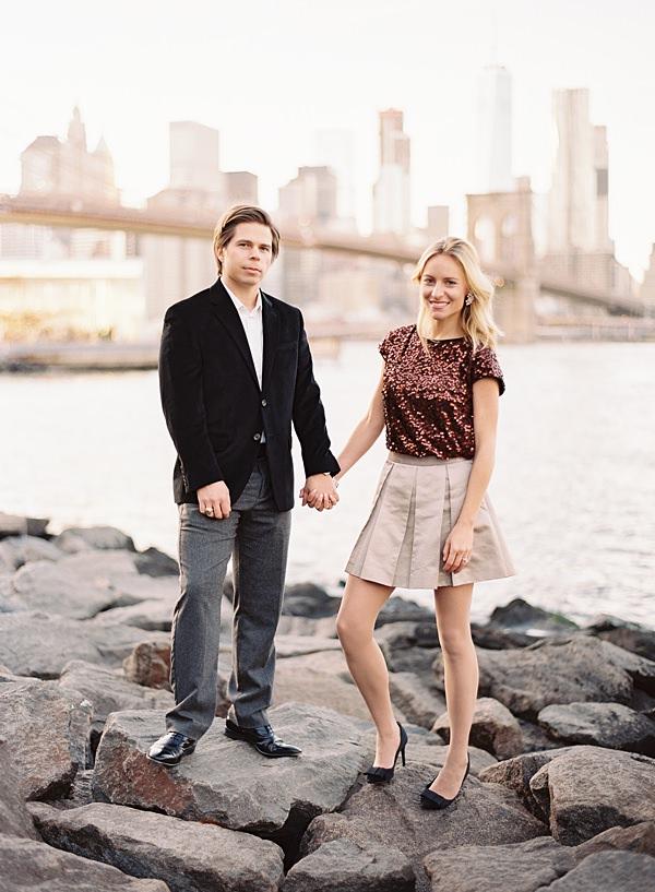 stylish husband and wife