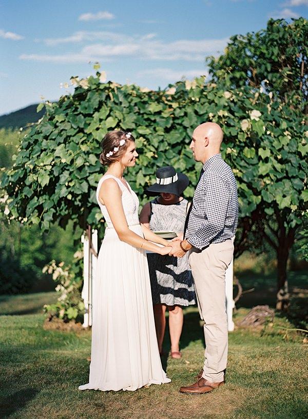 family wedding in maine