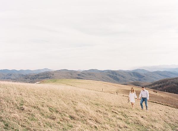 rolling mountain field