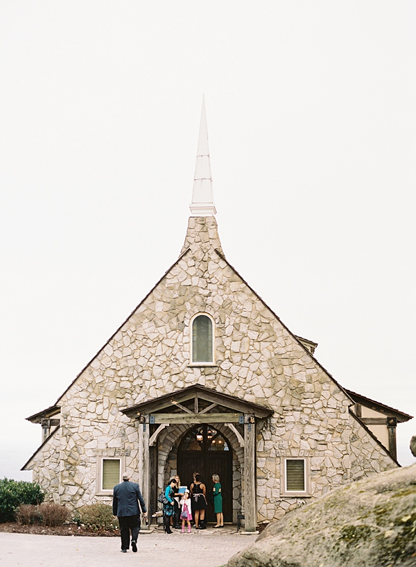 glassy chapel