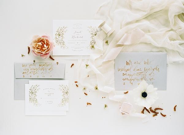 Jenn gietzen wedding invitation