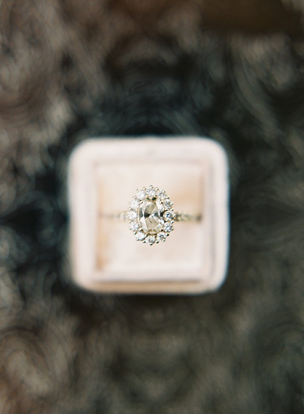 engagement ring in mrs box