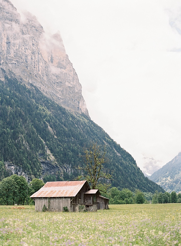 lauterbrunnen valley shack