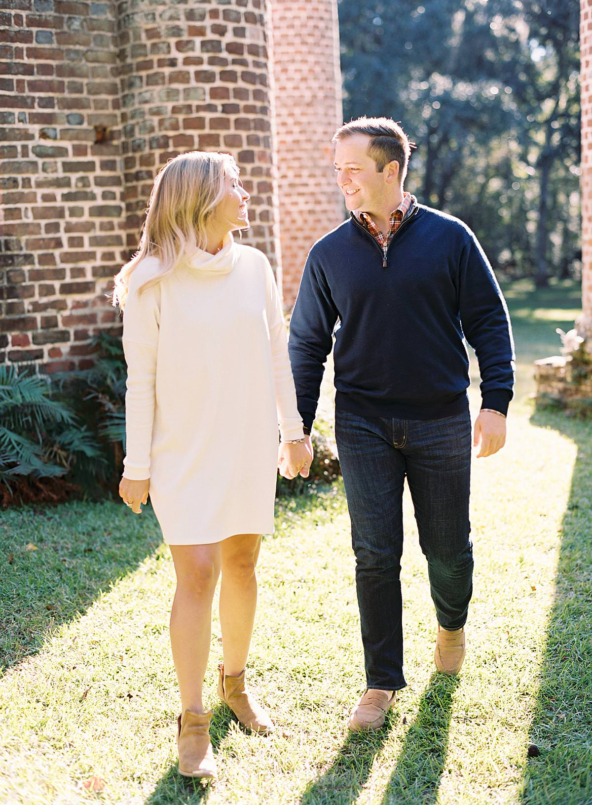 lowcountry engagement session