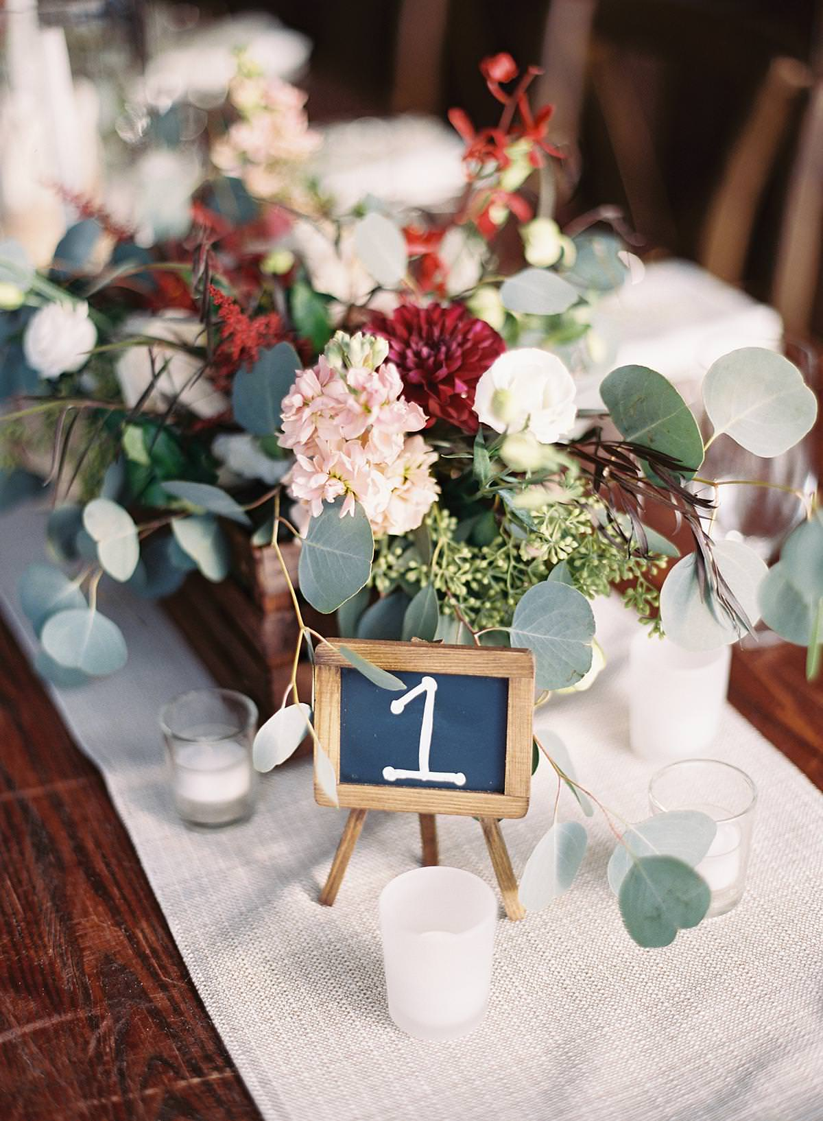 reception table markers