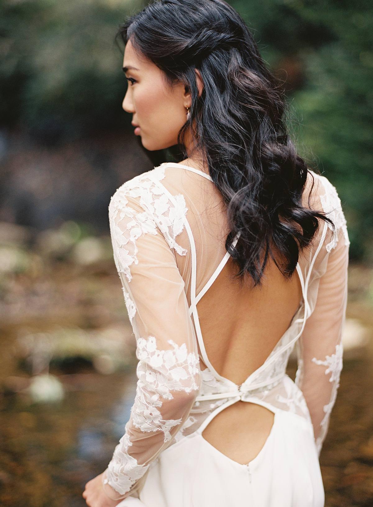 loose wedding curls