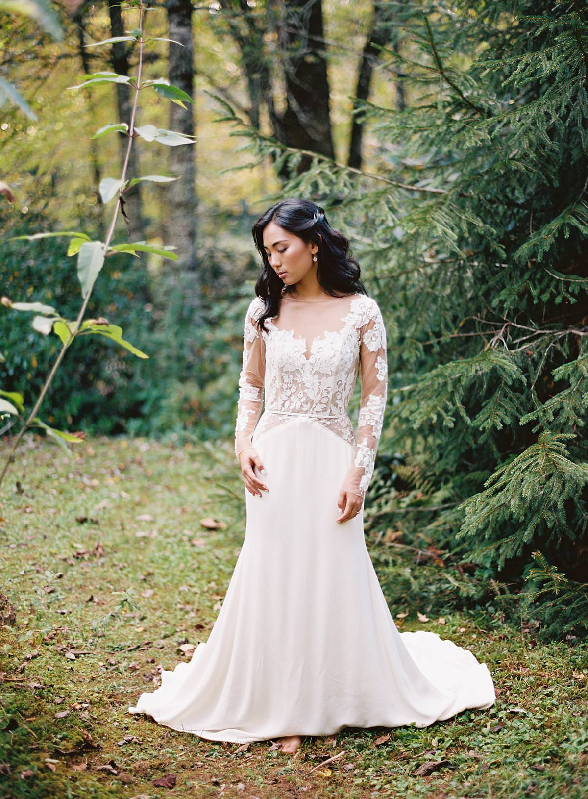 lace wedding sleeves