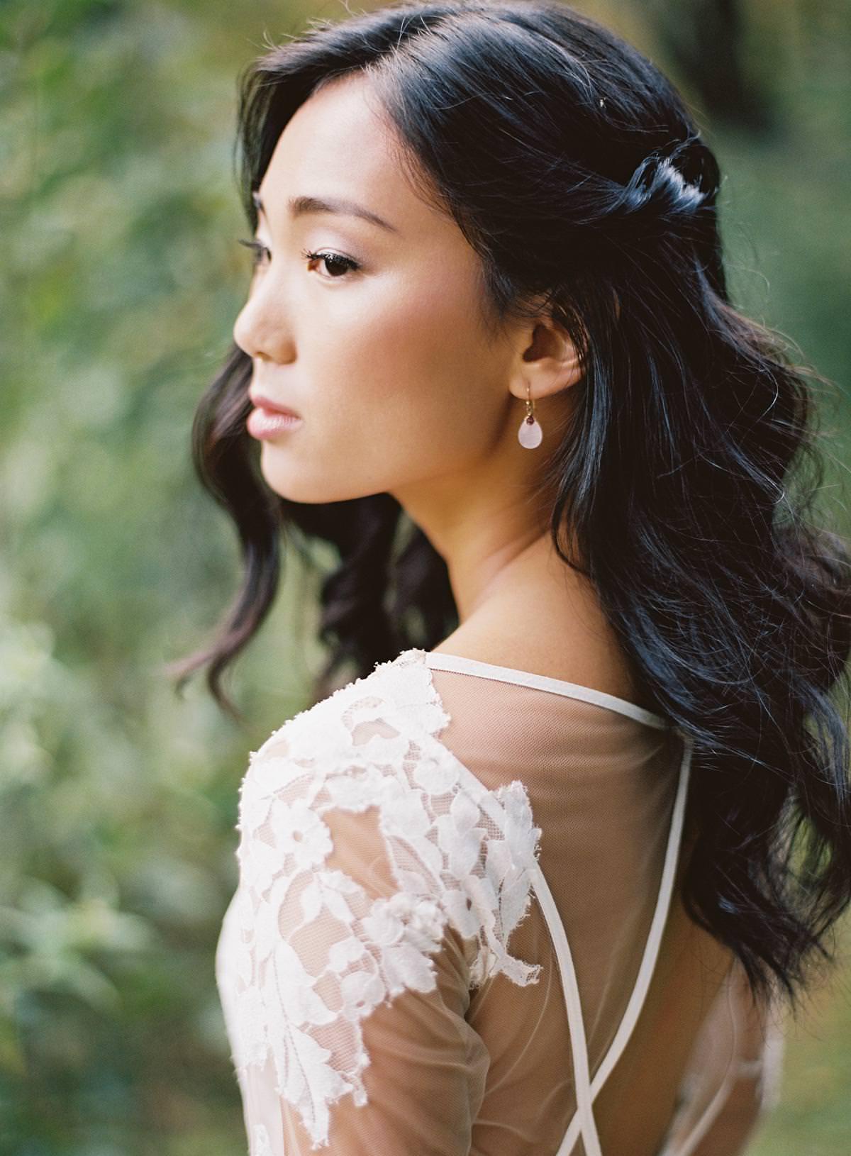 organic wedding makeup