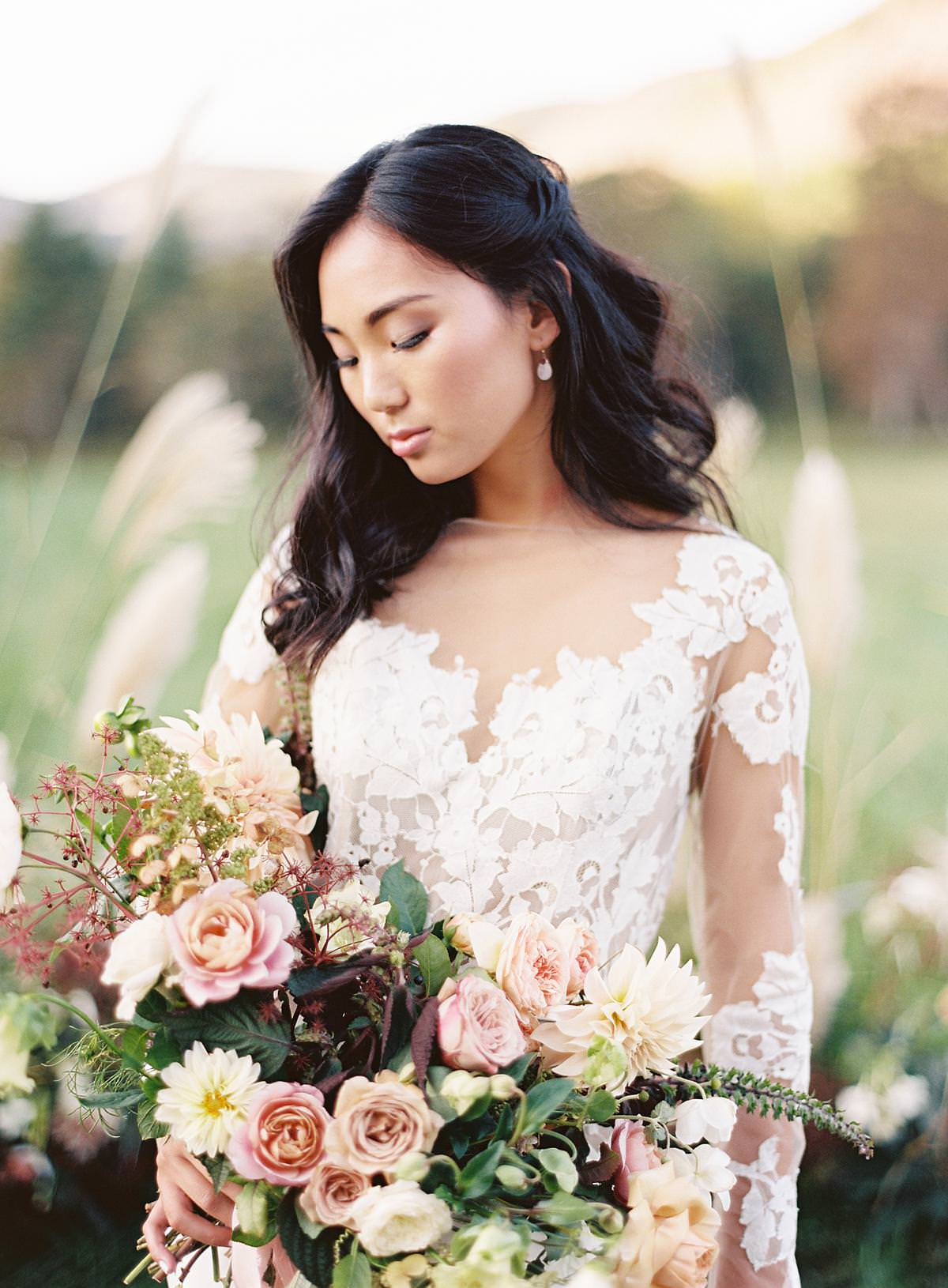 modfete wedding bouquet