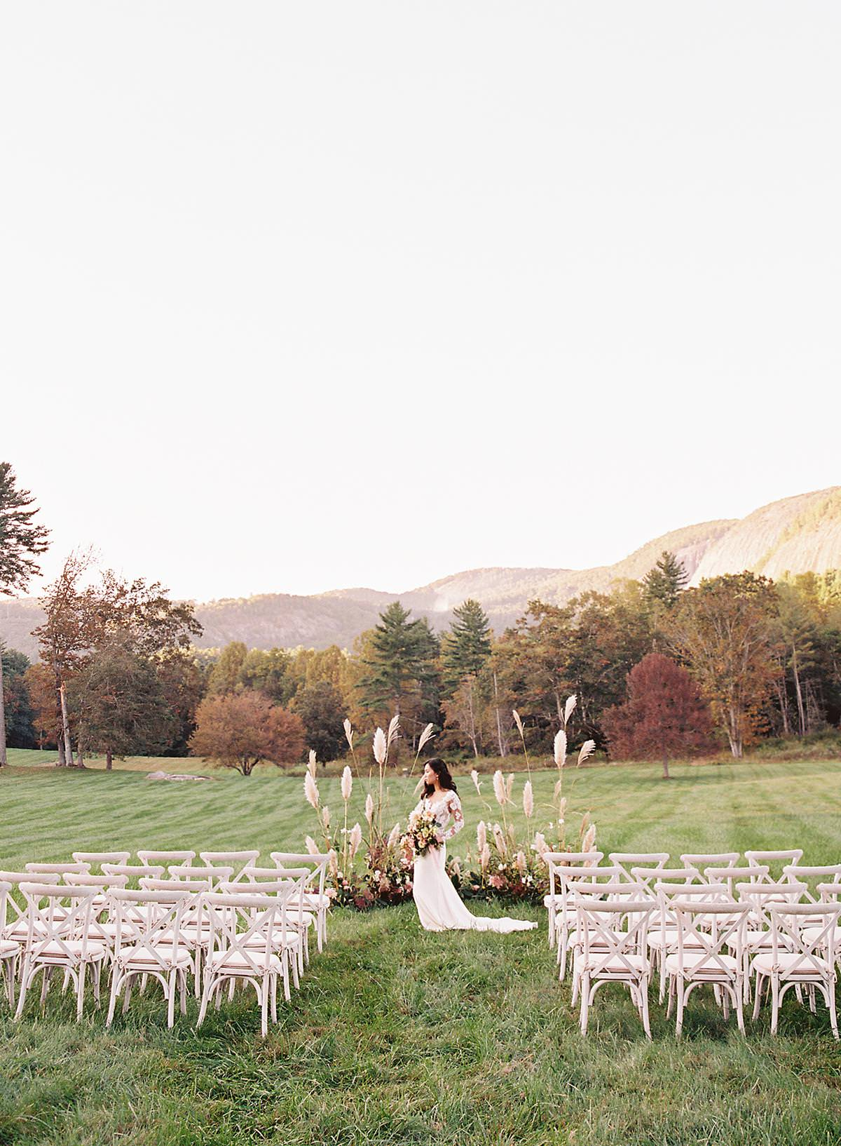 intimate north carolina wedding